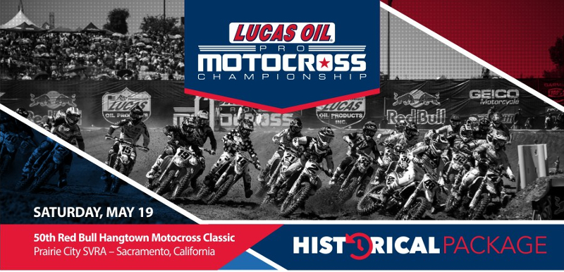 2018 Hangtown National Historical Notes & Stats