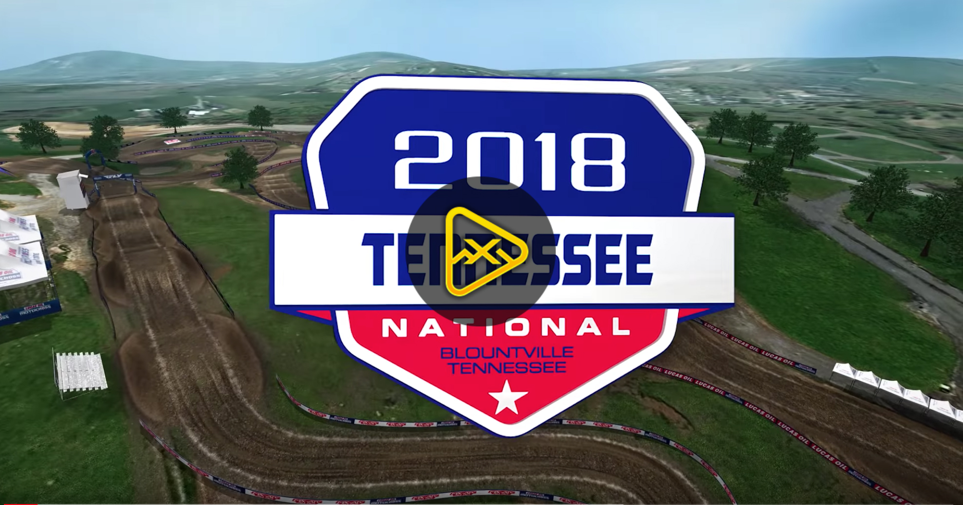 2018 Tennessee National Animated Track Map