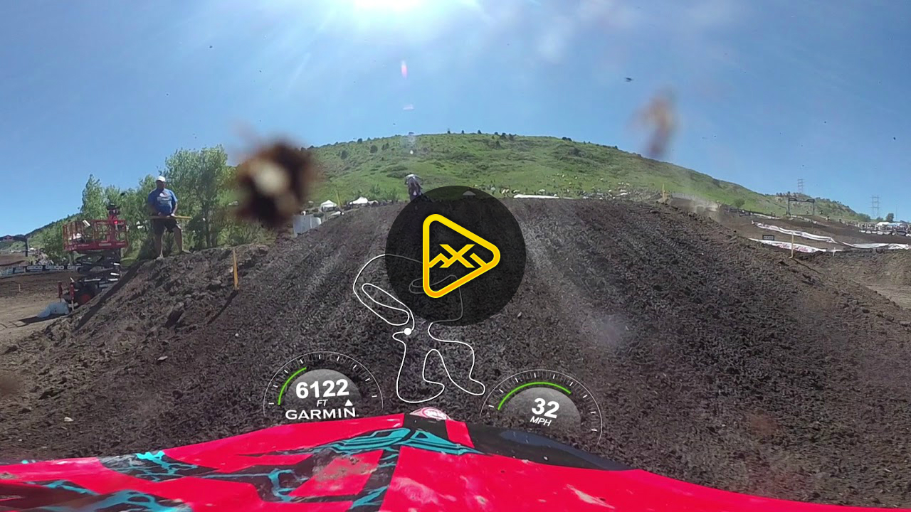 Helmet Cam 360: Blake Baggett at Thunder Valley