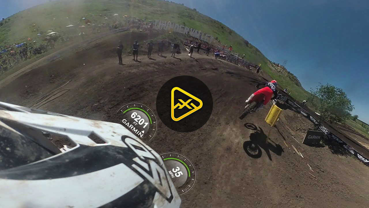 Helmet Cam 360: Jeremy Martin at Thunder Valley