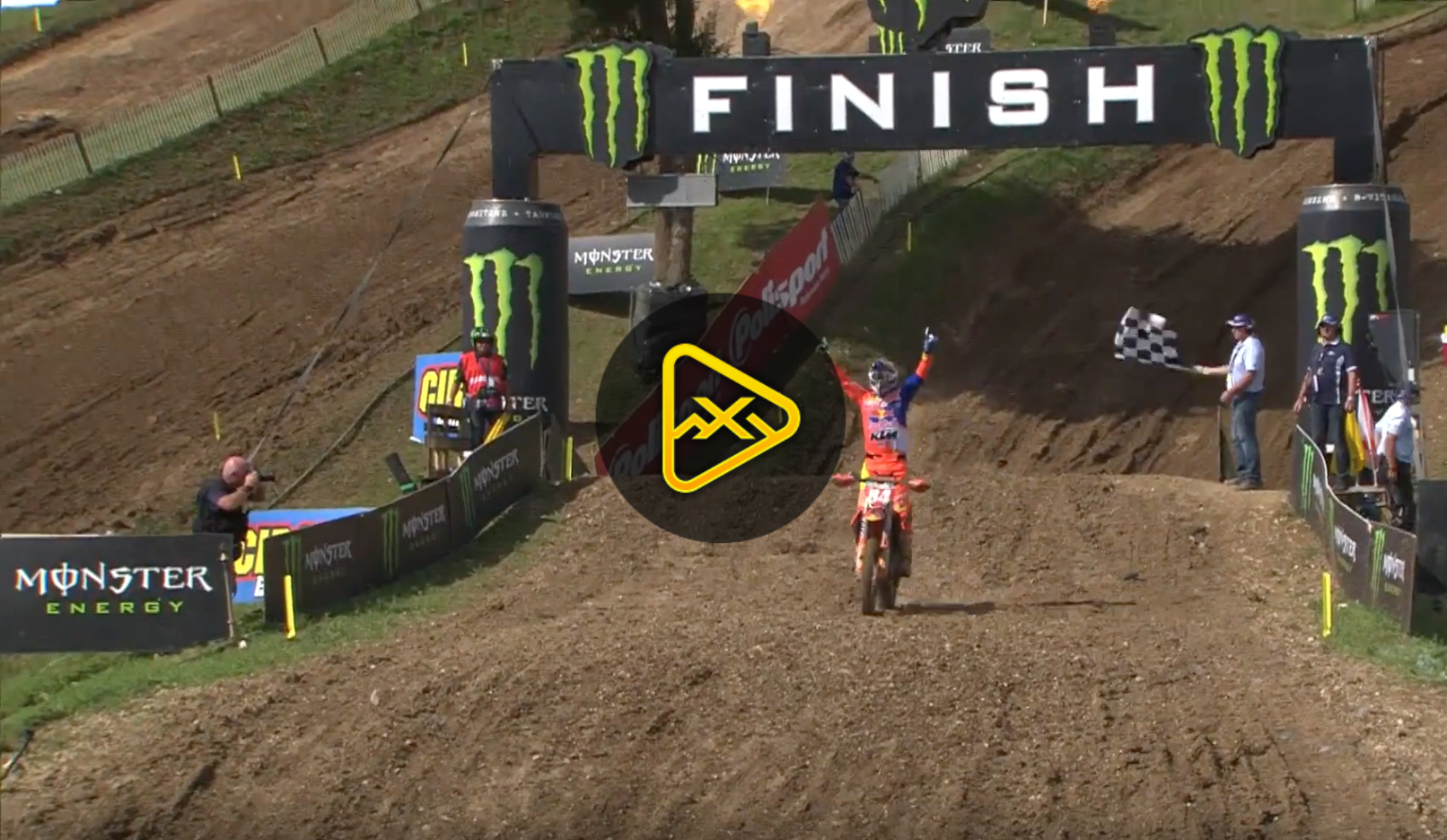 2018 MXGP of France Race Highlights