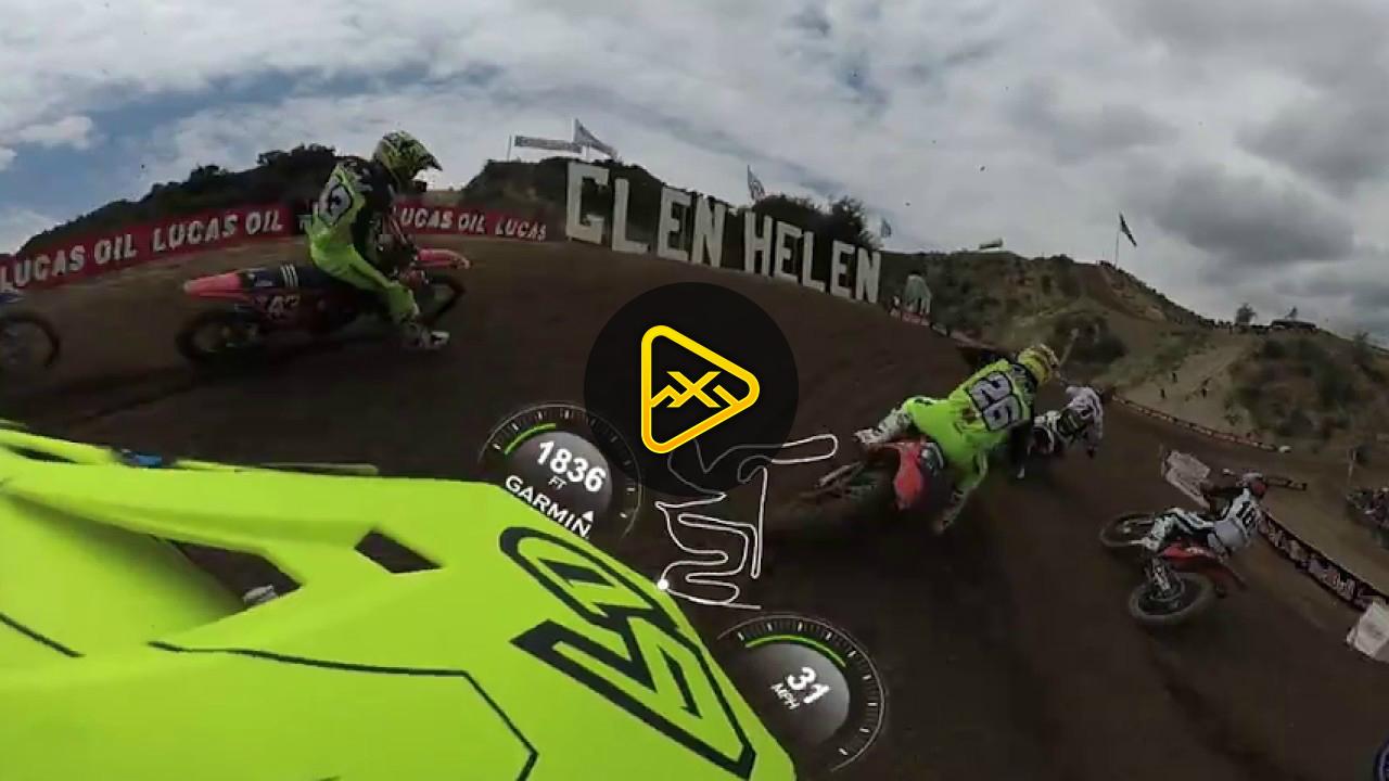Helmet Cam 360: Jeremy Martin at Glen Helen National