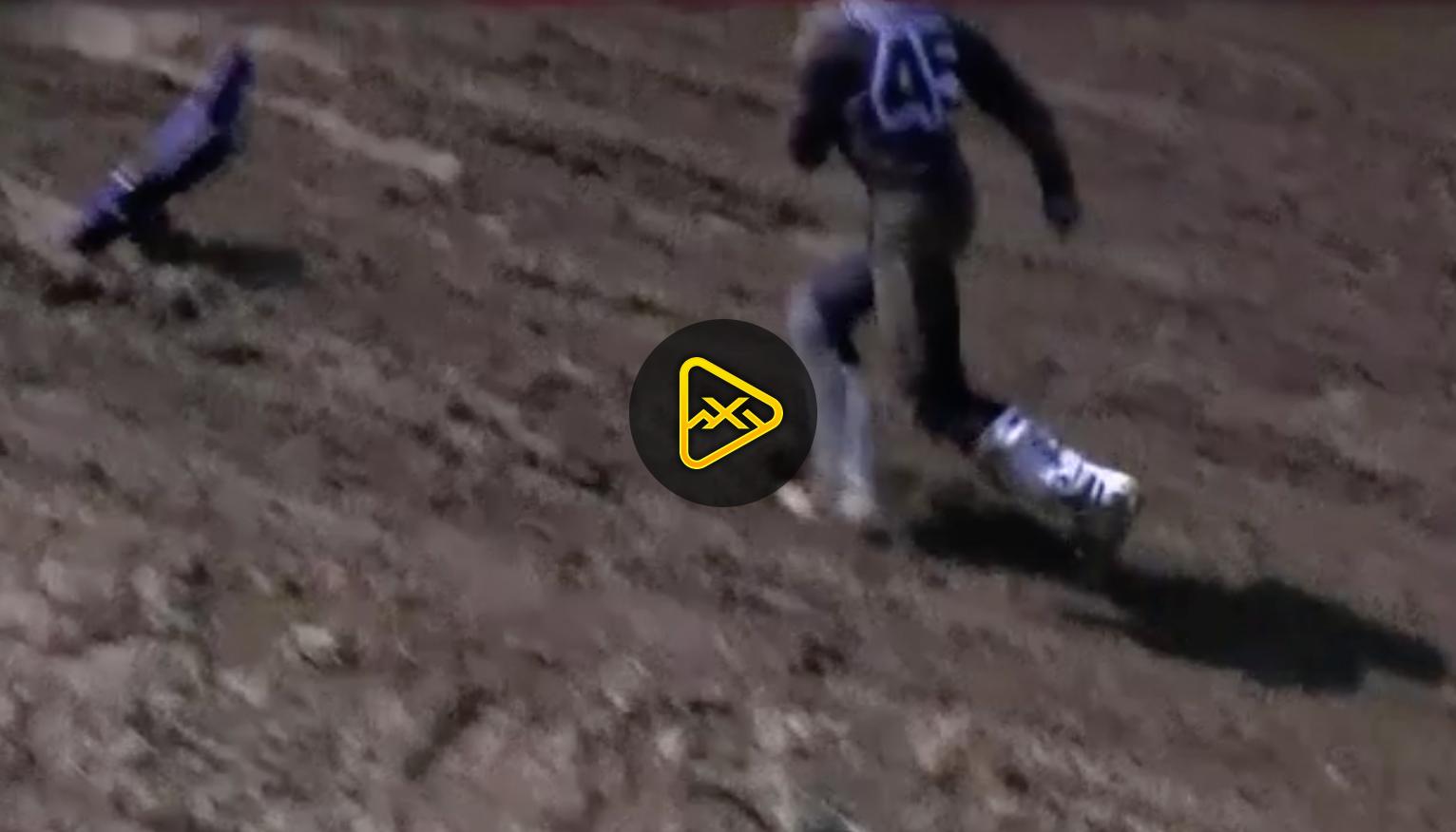 Jordon Smith Crashes and Loses Seat