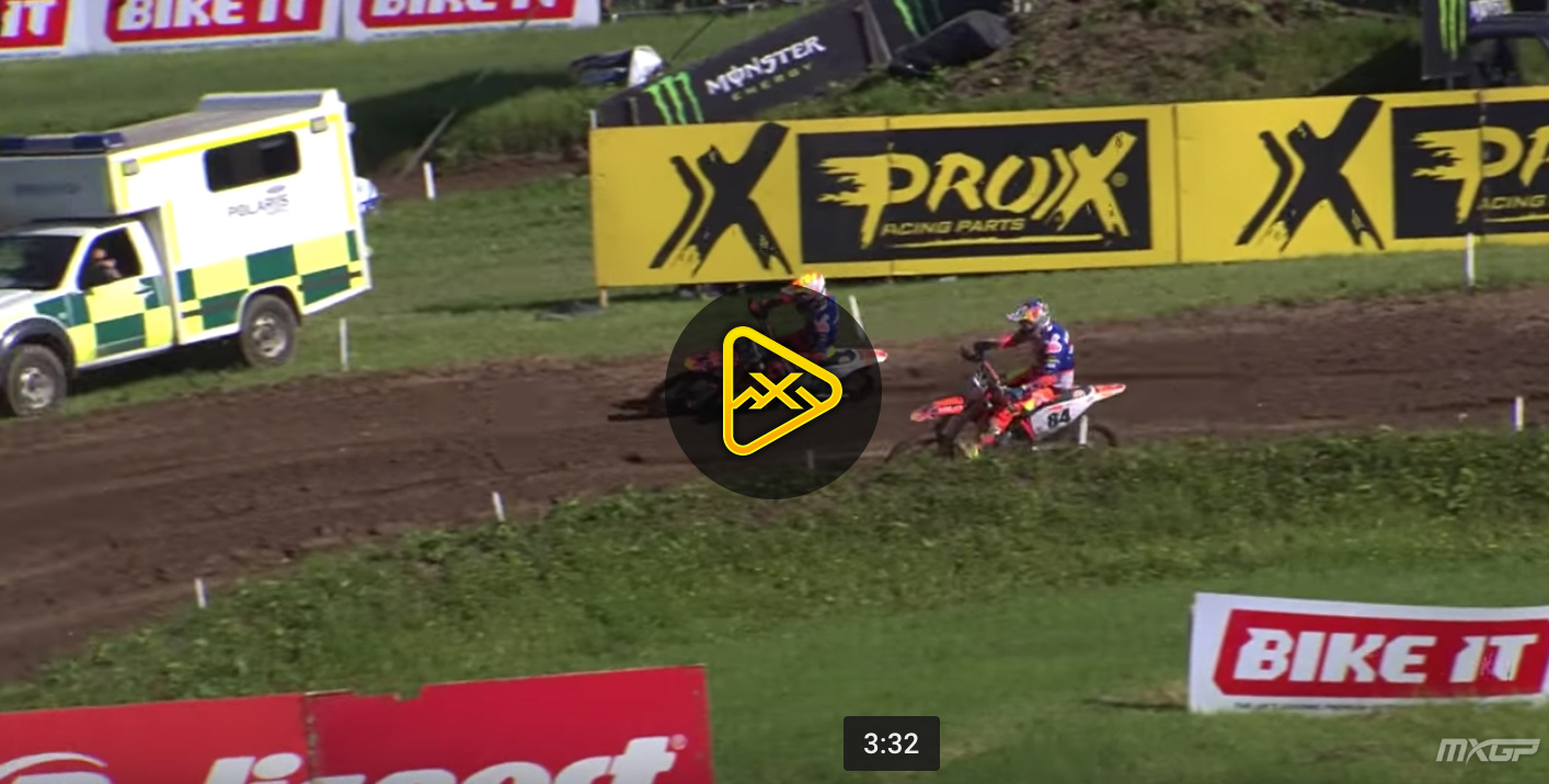 2018 MXGP of Great Britain Qualifying Highlights