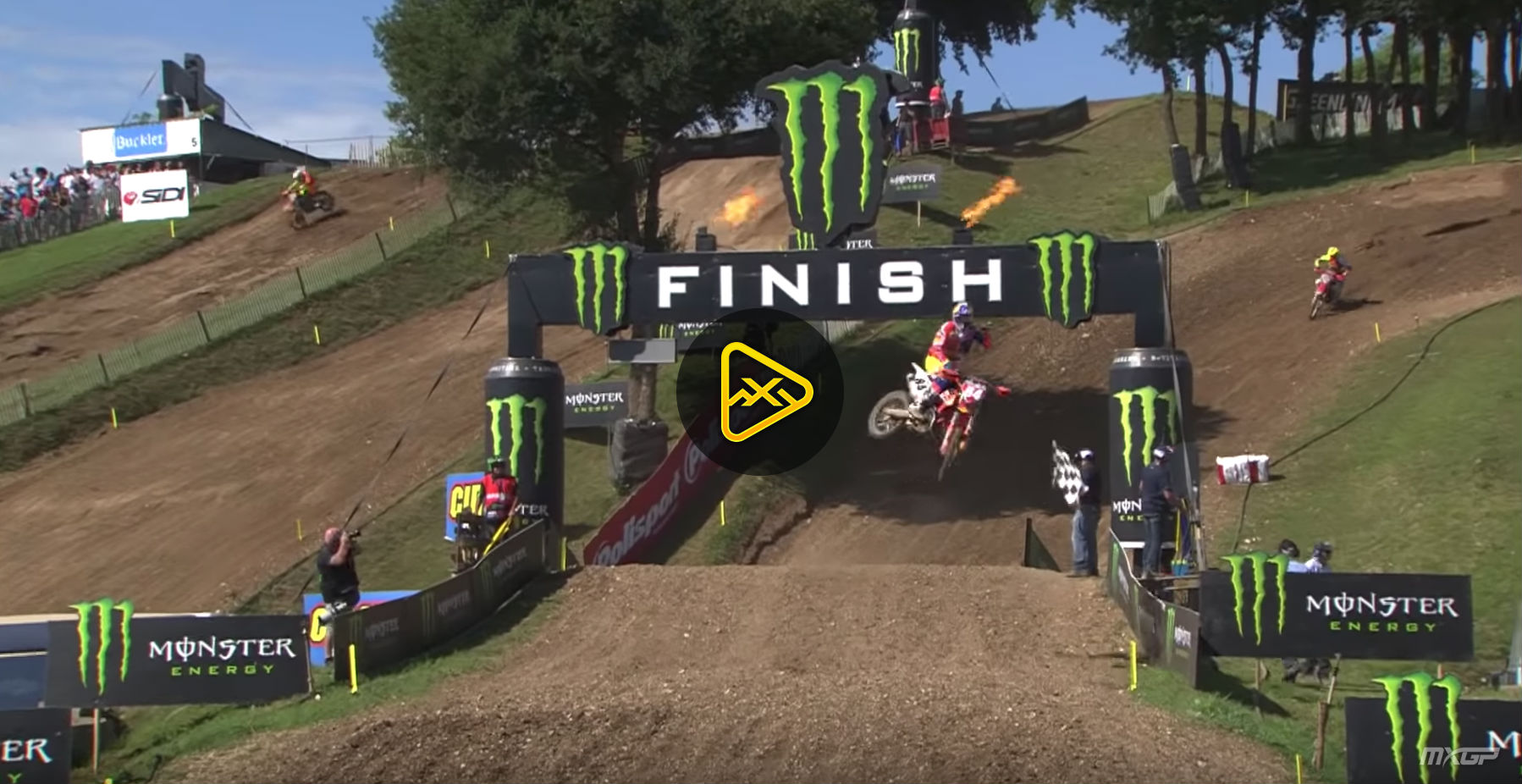 Qualifying Highlights at 2018 MXGP of France