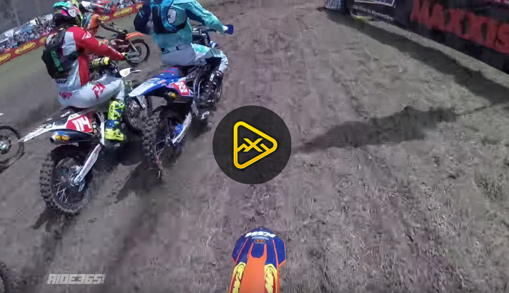 Helmet Cam: Kailub Russell – Steele Creek GNCC