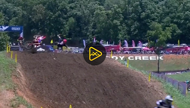 Alex Martin Crash – Tennessee National