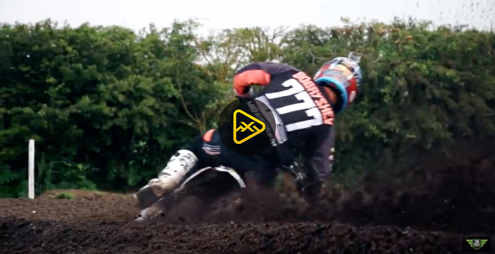 MXGP Star, Evgeny Bobryshev Shreds Local Track