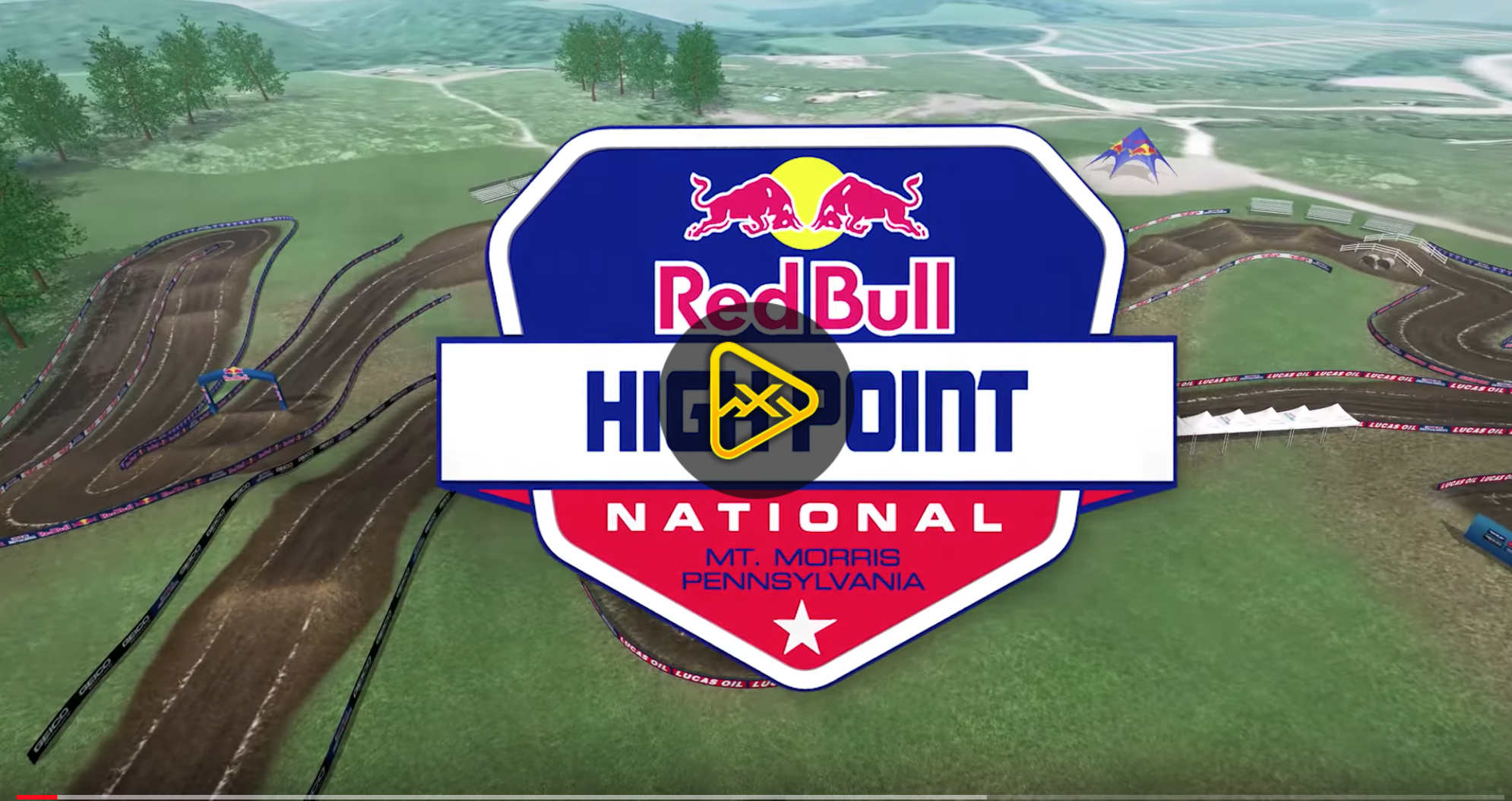 2018 High Point National Animated Track Map