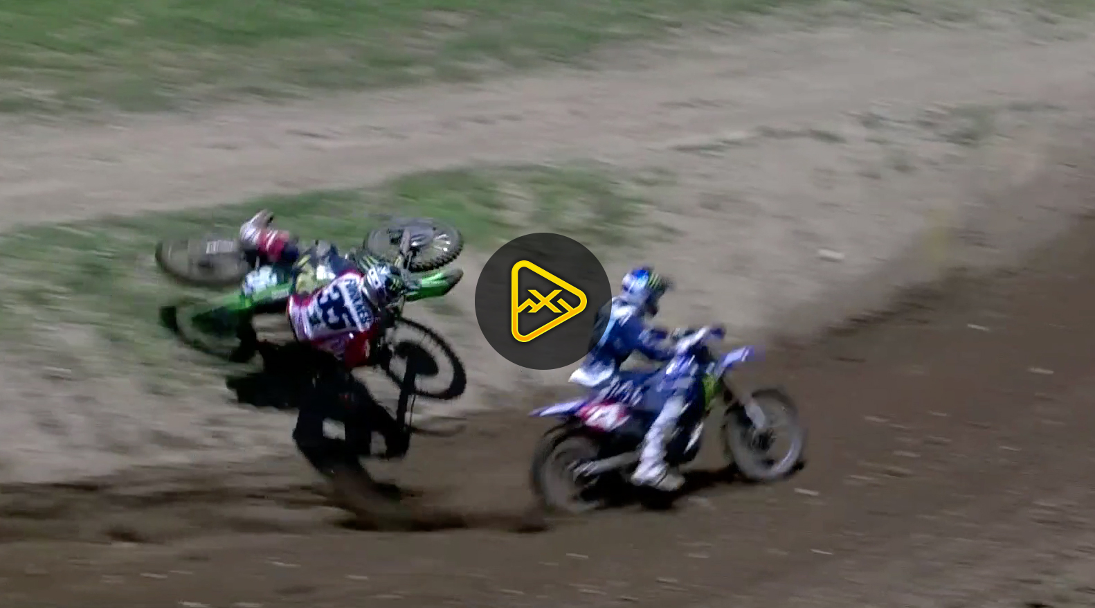 Forkner and Plessinger Collide – 2018 RedBud