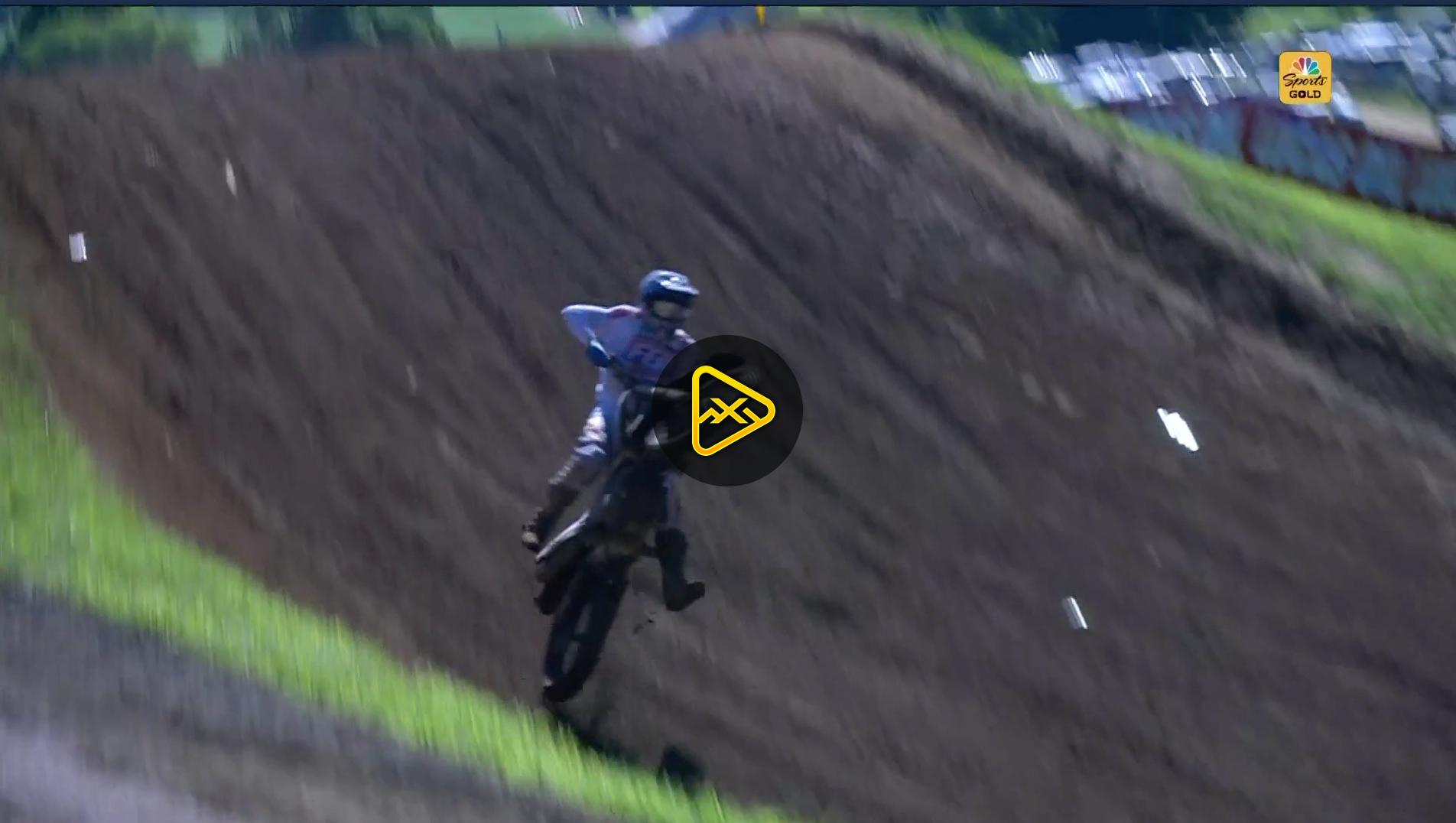 Jake Masterpool Crash Off Larocco's Leap