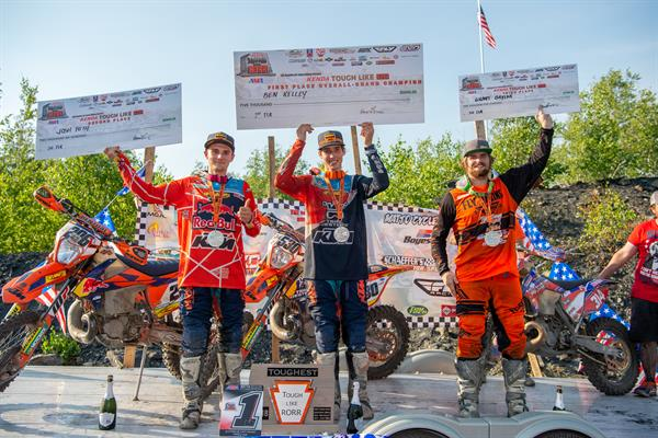 KTM RIDERS SWEEP THE PODIUM AT 2018 TOUGH LIKE RORR EVENT