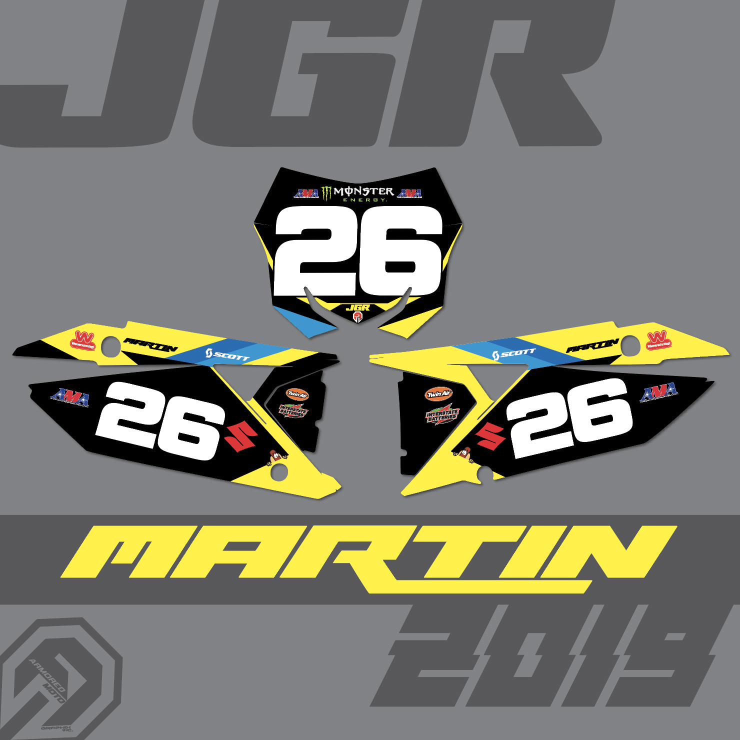 Alex Martin to JGRMX / Suzuki for 2019 and Beyond