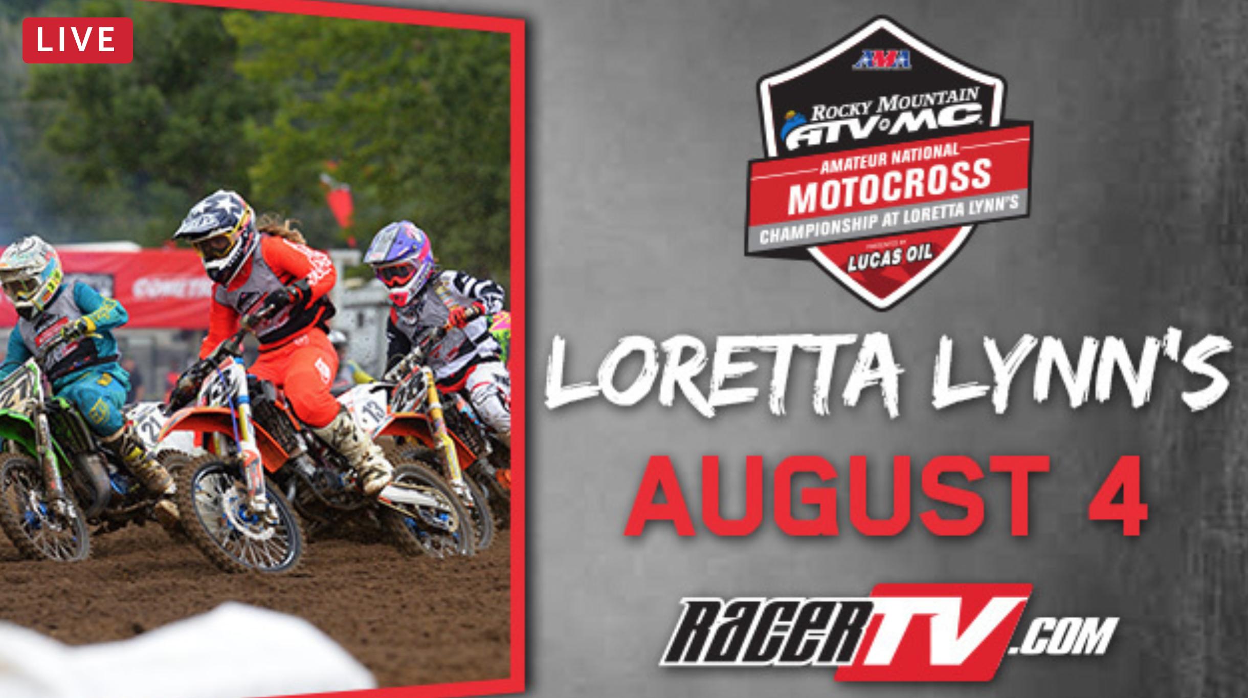 Live Stream – 2018 Loretta Lynn Amateur MX – Day 5