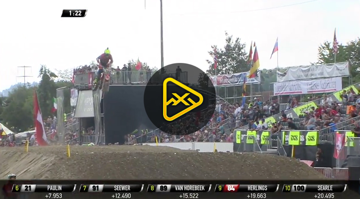 2018 MXGP of Switzerland Qualifying Highlights