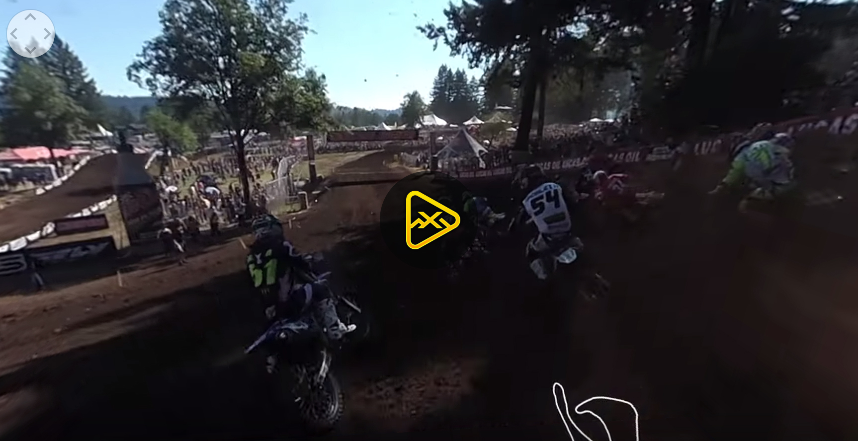 360 Helmet Cam: Benny Bloss at Washougal