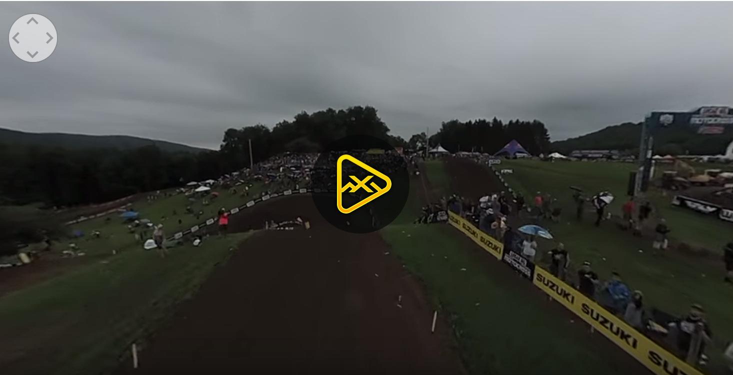 Helmet Cam 360: Benny Bloss at Unadilla 2018