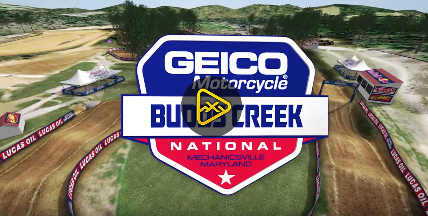 2018 Budds Creek National Animated Track Map