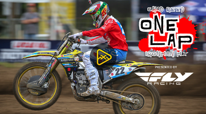 Helmet Cam: One Lap with Chad Reed at Ironman