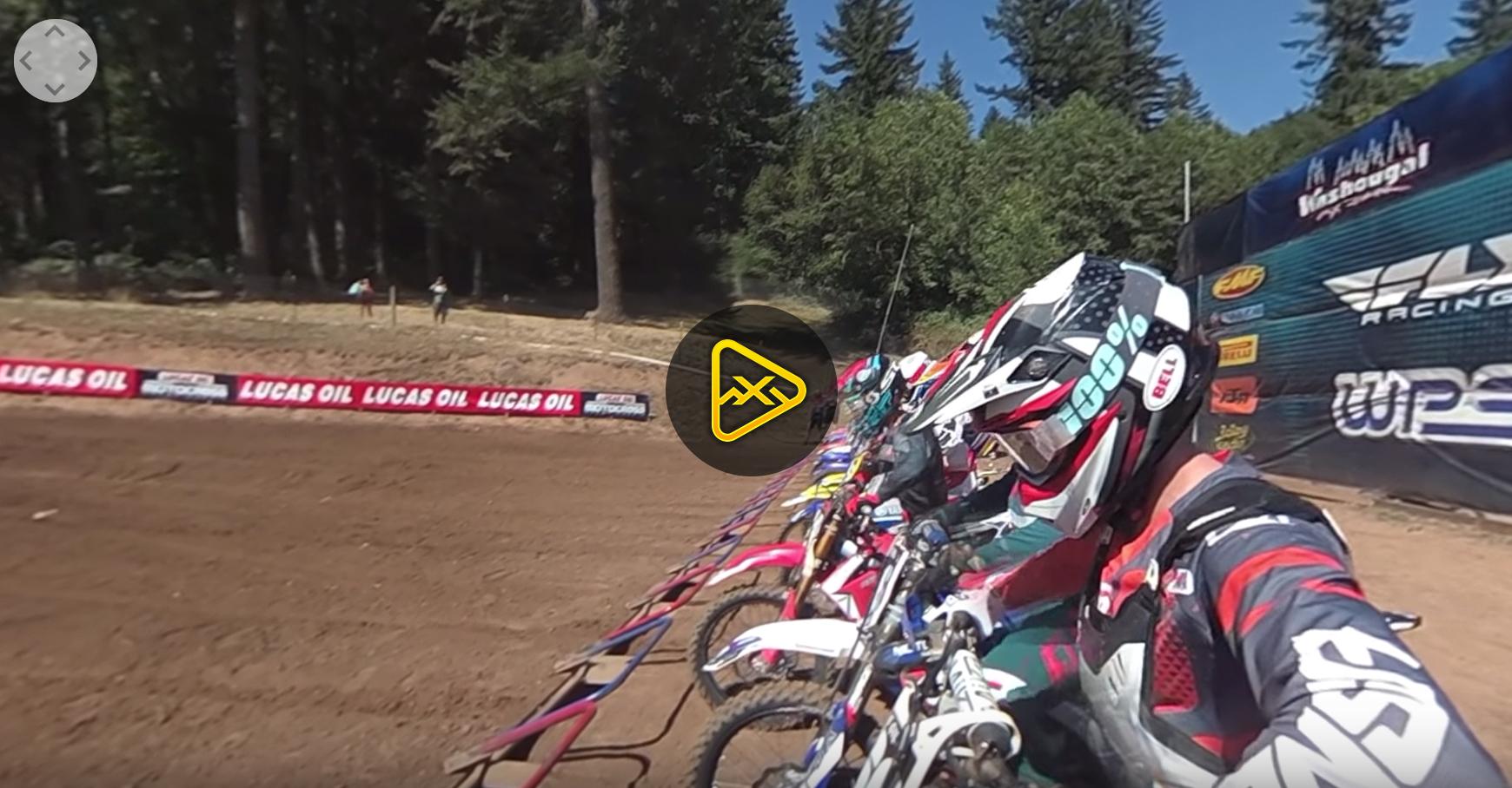 360 Helmet Cam: Dakota Alix at Washougal
