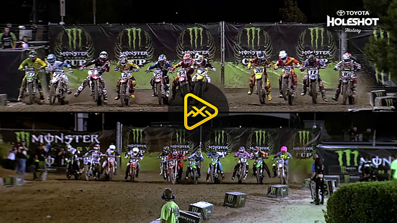 Monster Cup Holeshot History: James Stewart