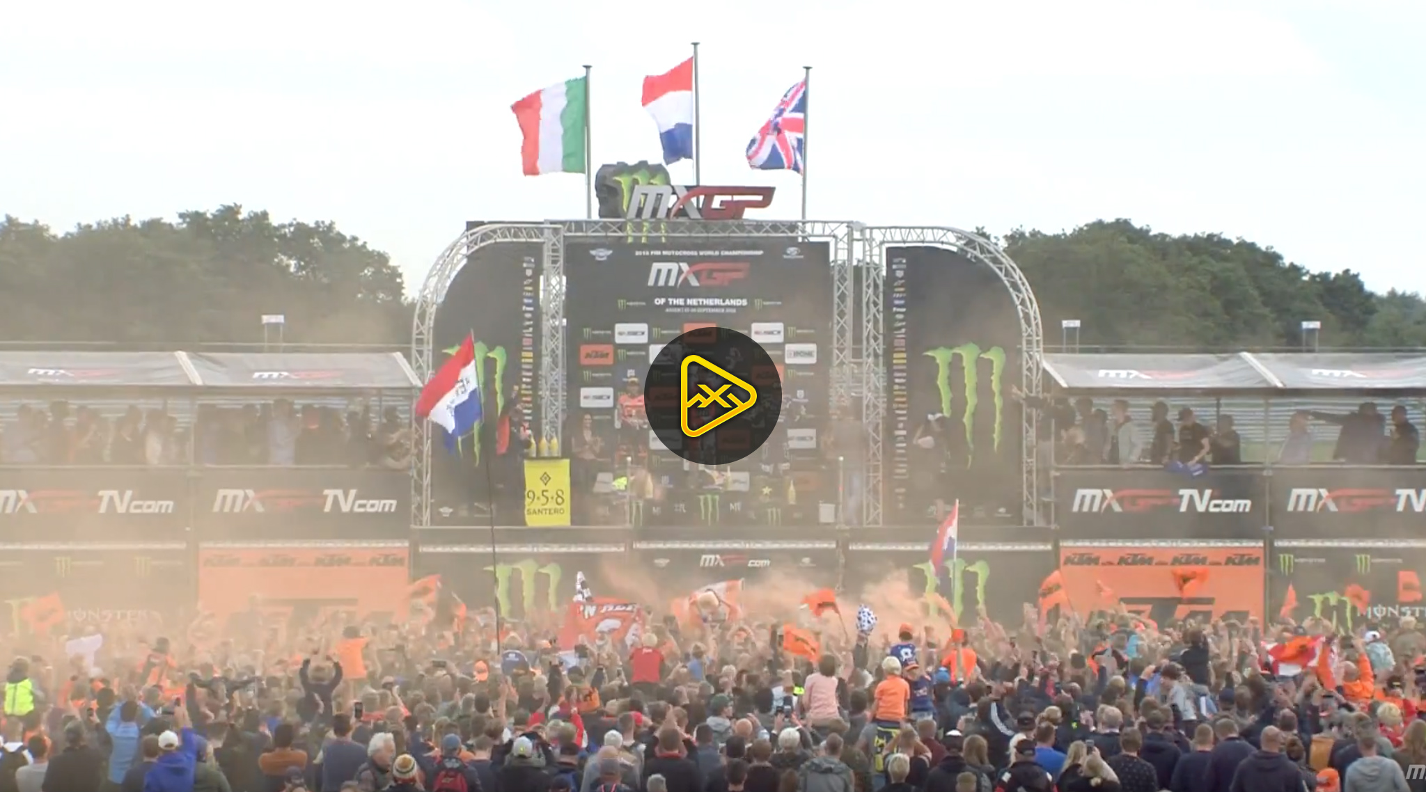 2018 MXGP of The Netherlands Highlights