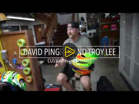 David Pingree & Troy Lee Talk Custom Helmets