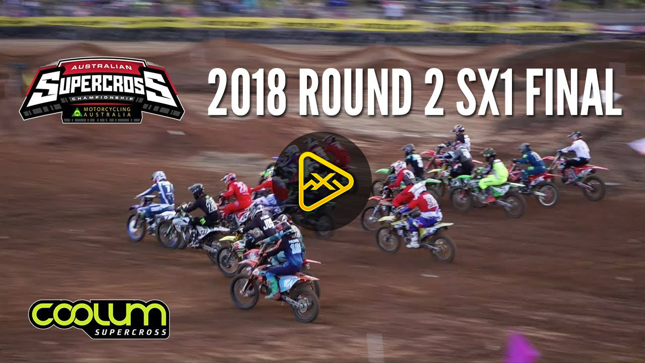 SX1 Australian SX – RD2 Main Event in Full