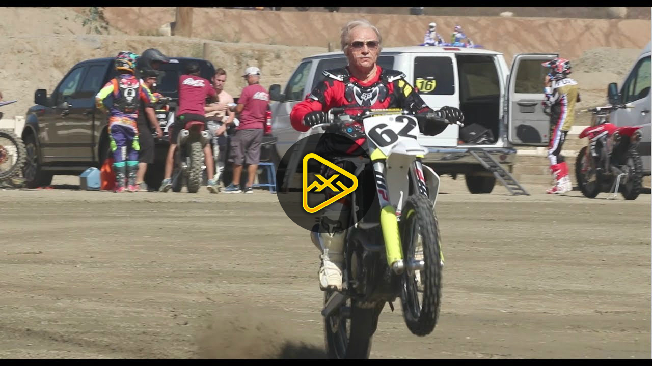 80 Year-Old Grandpa Earl Shreds on Dirt Bike