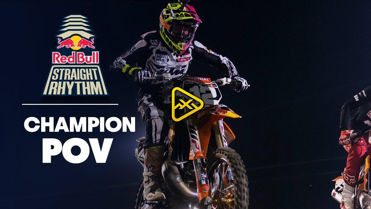 Helmet Cam: McElrath vs Smith – 2018 Red Bull Straight Rhythm