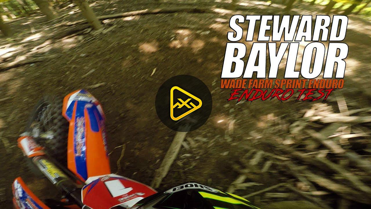 Helmet Cam: – Steward Baylor Ripping River Bottom