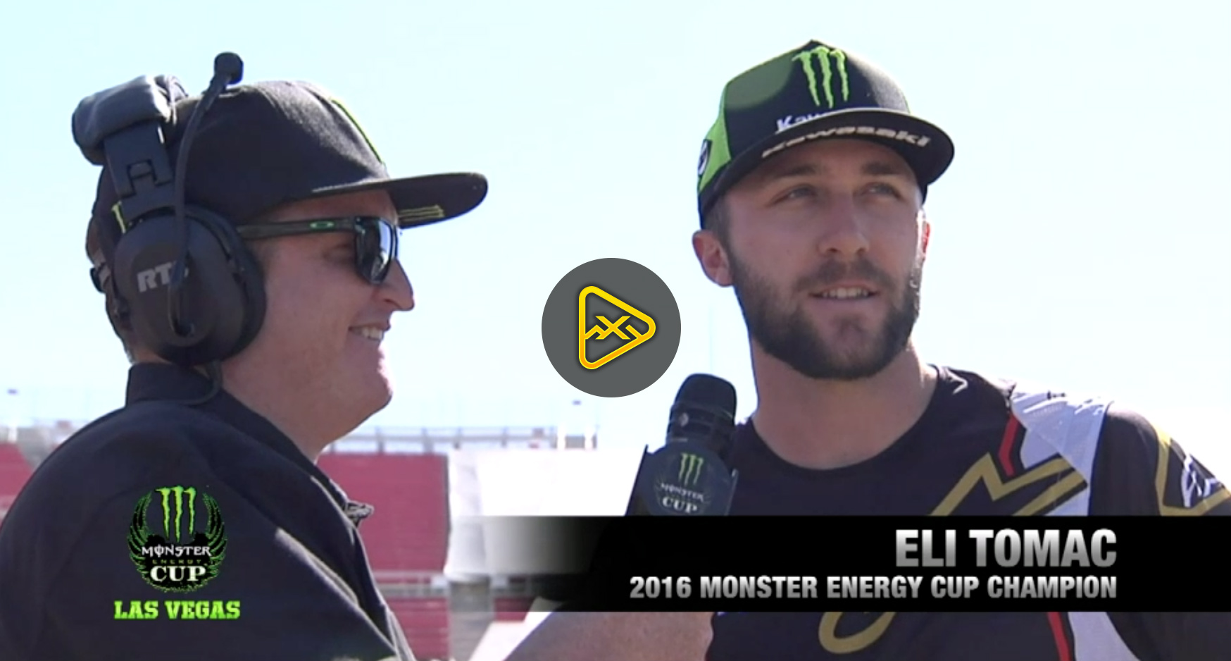Live Press Event from 2018 Monster Energy Cup