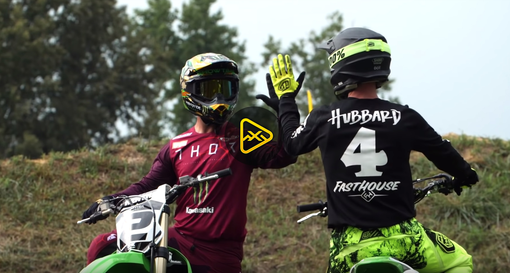 Jeremy McGrath & Tyler Hubbard Ride Hubbard Hills