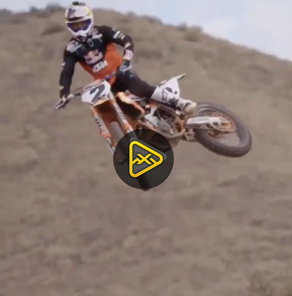 Cooper Webb Rides his New KTM