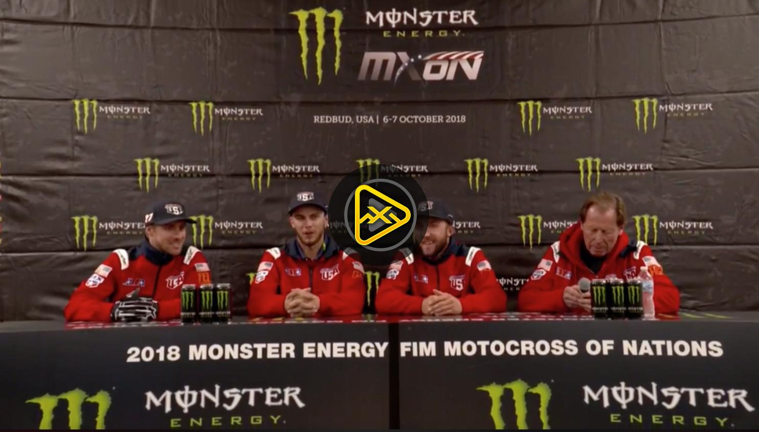2018 MXoN Team Press Conference