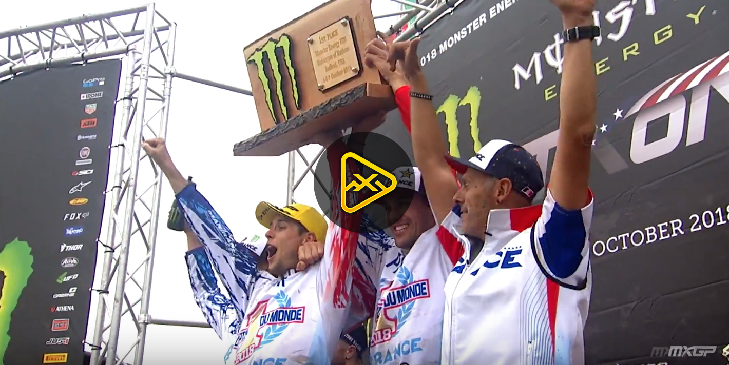 2018 Motocross of Nations Highlights