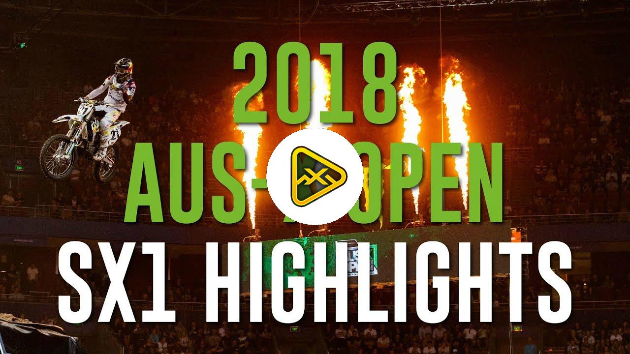 2018 AUS-X Open Highlights