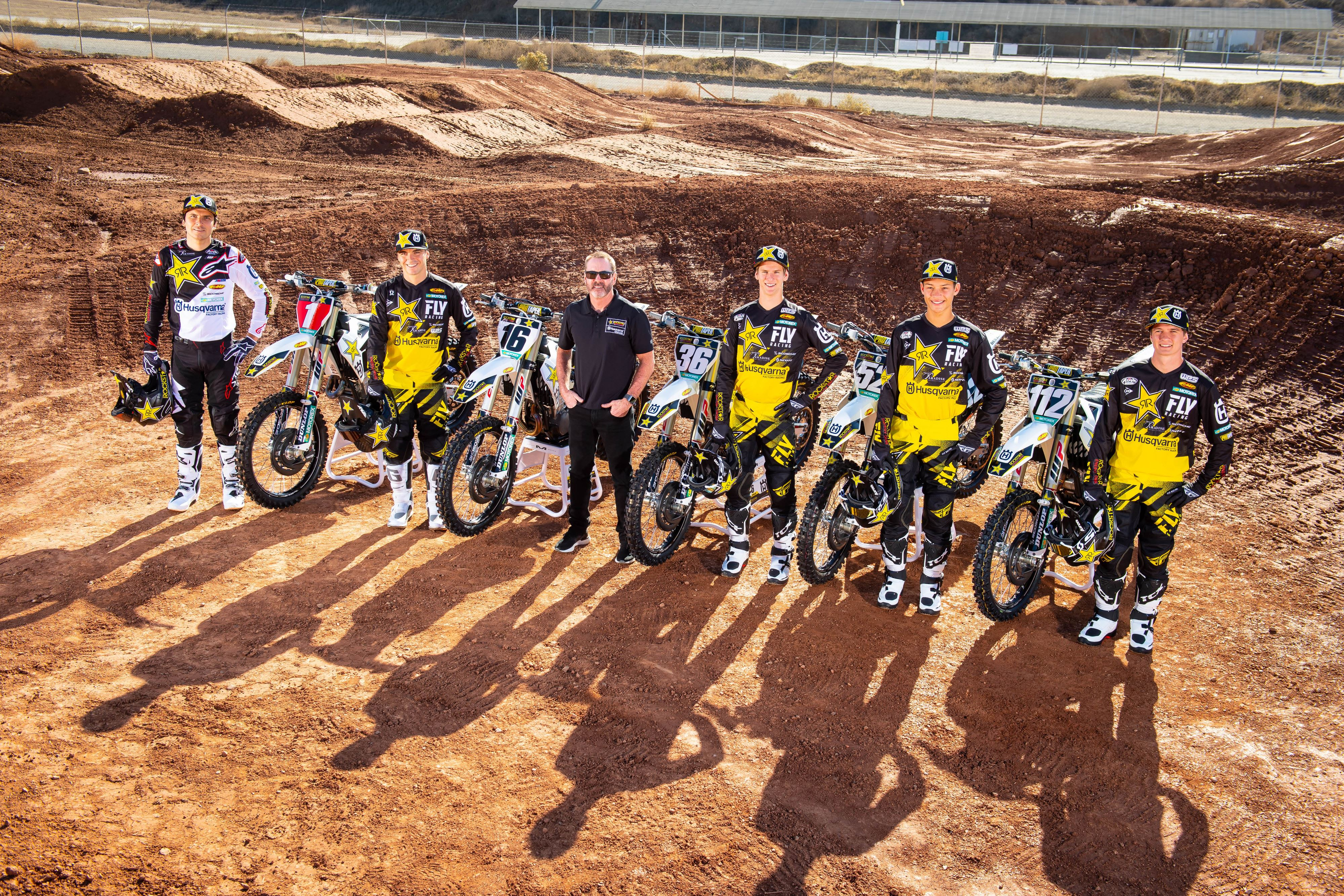 Husqvarna Announces 2019 AMA SX / MX Team Lineup