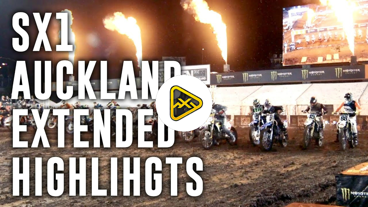 Aukland S-X Open | SX1 Extended Highlights