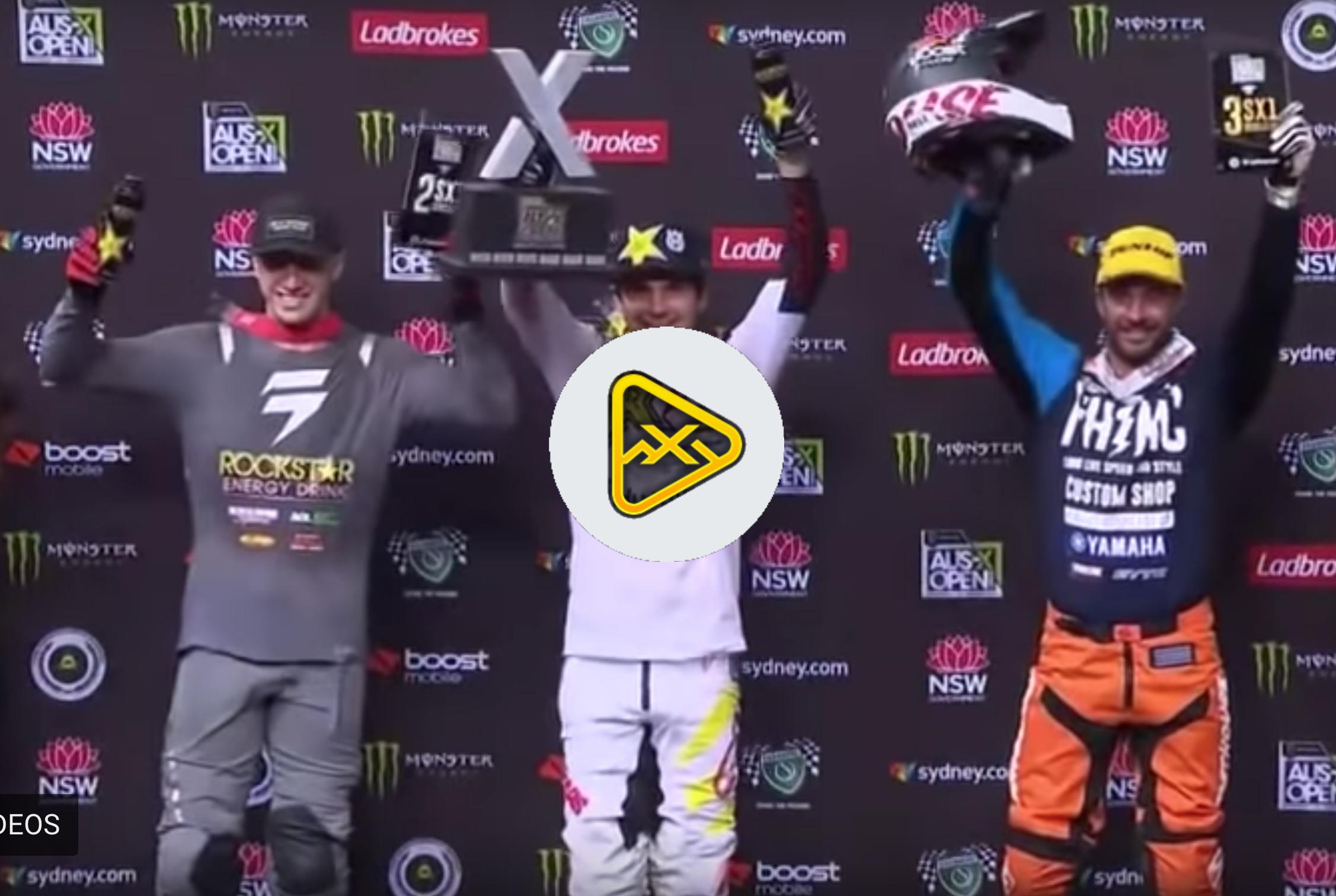 Watch 2018 AUS-X Open SX1 Main Events