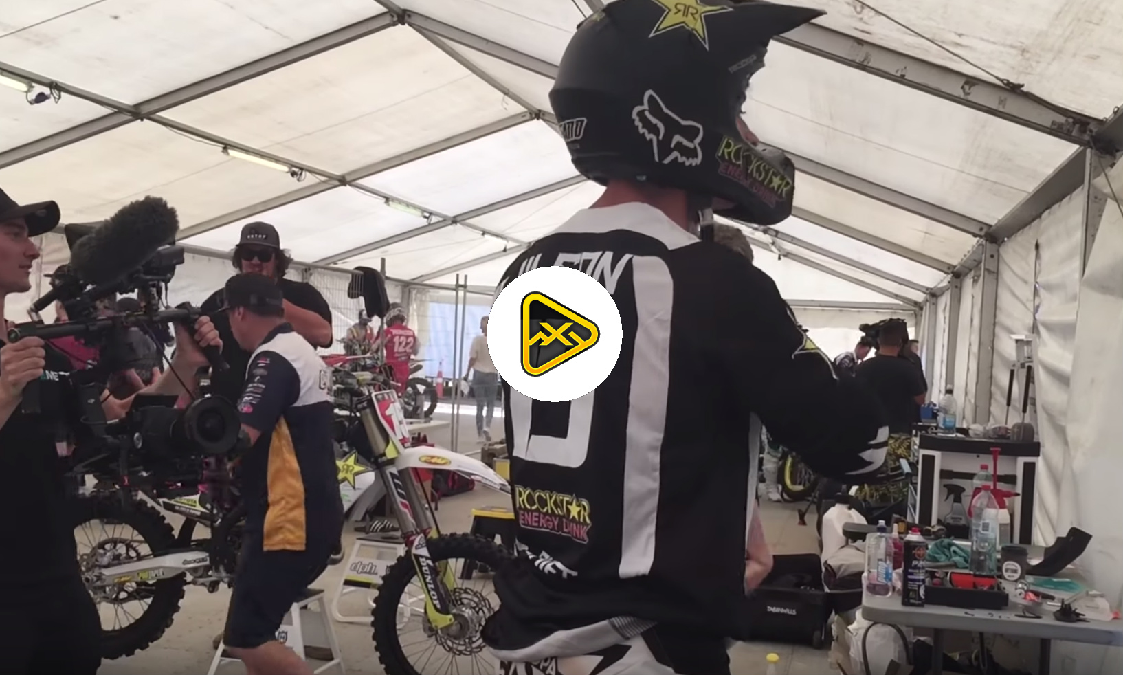 Behind the Scenes at Aukland SX with Dean Wilson