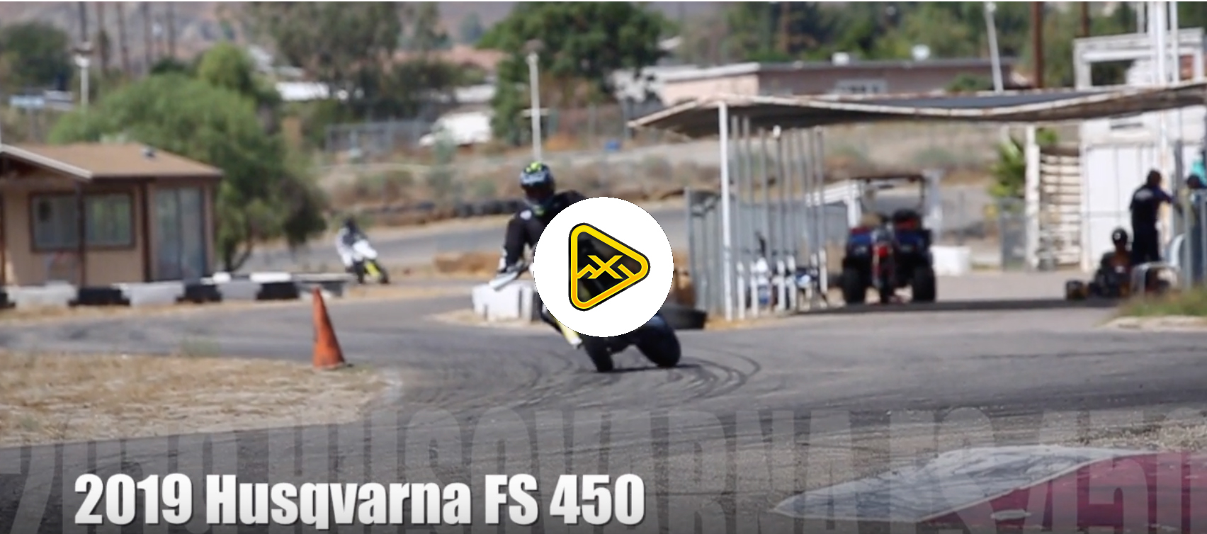 2019 Husqvarna FS450 Supermoto First Ride