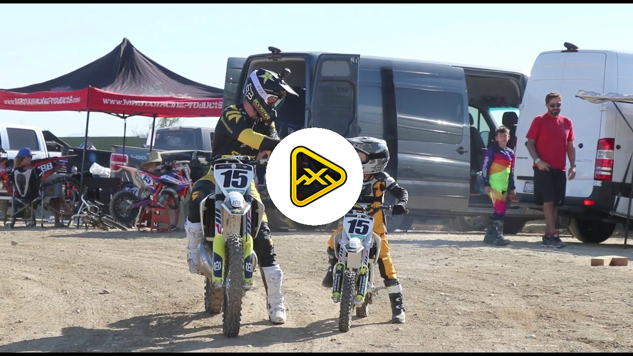 Dean Wilson's vlog – Catching up with Luke