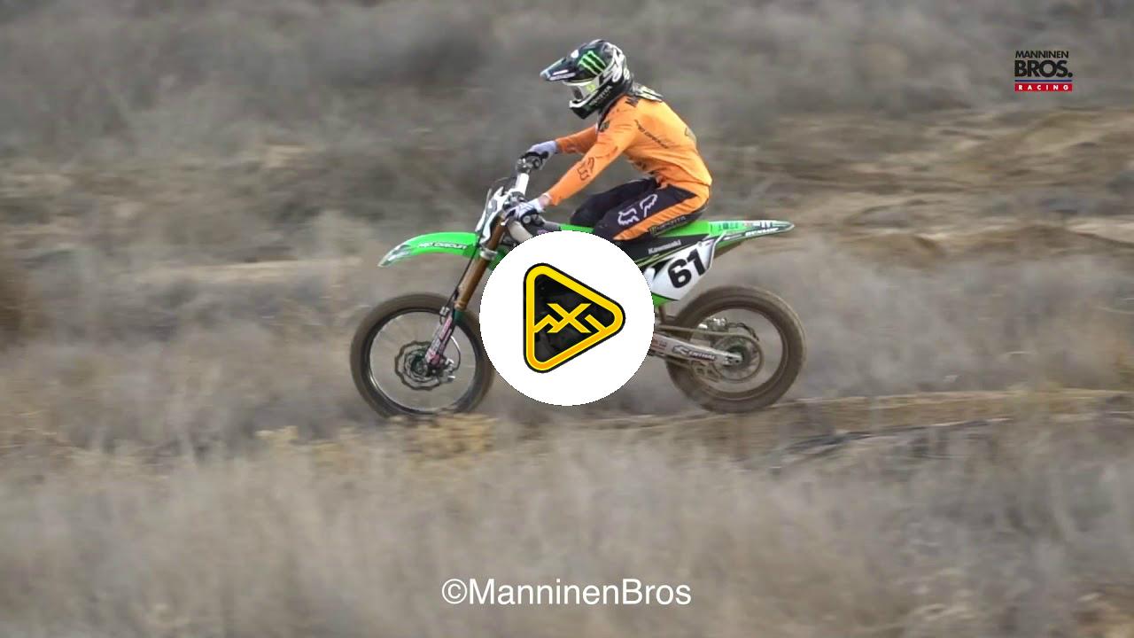 Garrett Marchbanks Rails the Sand Track