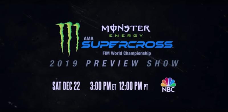 NBC Supercross Preview Show Tomorrow