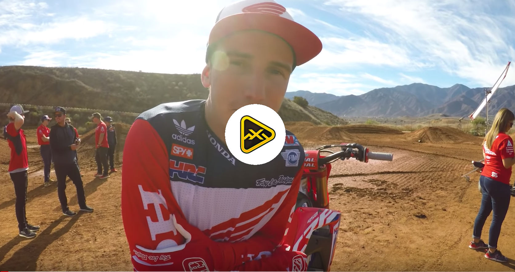 Cole Seely: Honda Team Shoot