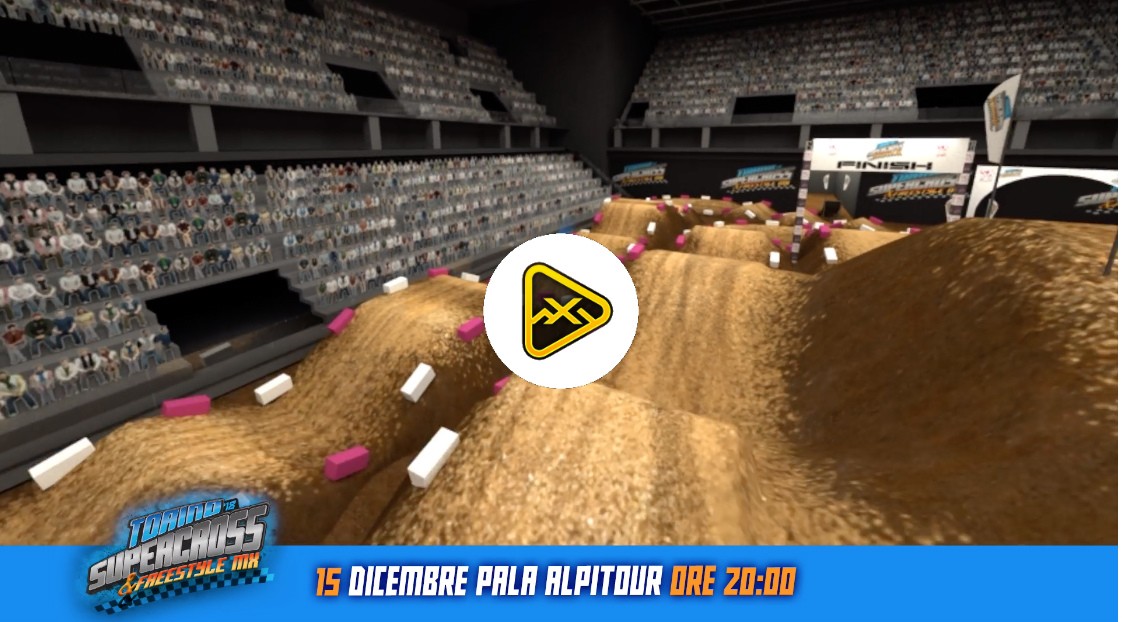 2018 Torino SX Animated Track Map