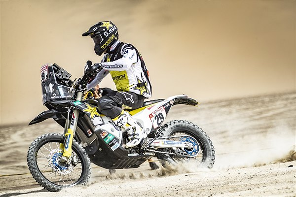 ANDREW SHORT INSIDE THE TOP 10 AFTER STAGE TWO OF DAKAR RALLY