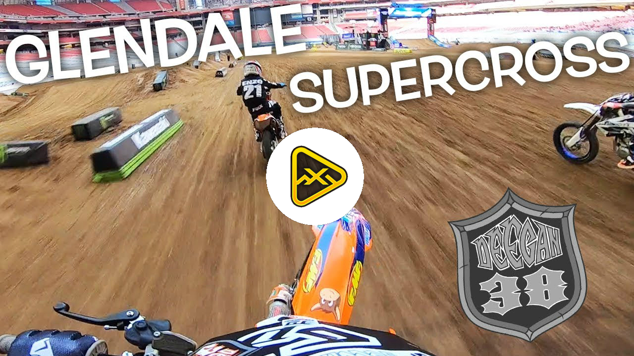 "GoPro: Haiden ""DangerBoy"" Deegan at Glendale SX Futures"