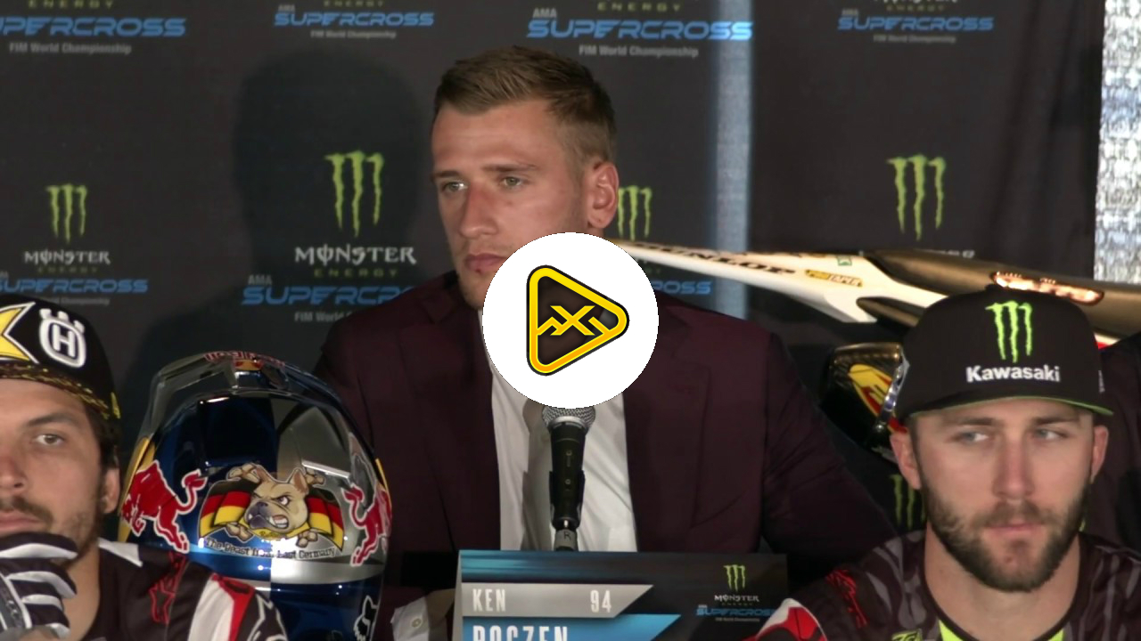 Ken Roczen Talks About His Heath – 2019 Anaheim 1 Sx